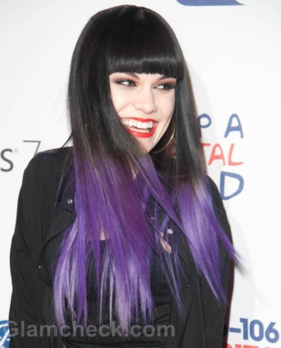 Jessie J Rocks Two-toned Hair at 2011 Jingle Bell Ball