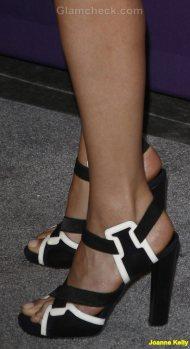 Joanne Kelly Celebrity footwear trend 2011