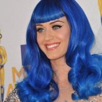 Katy Perry 2011 blue Hair