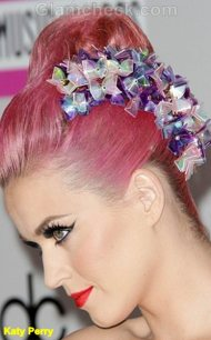 Katy-Perry Celebrity hair accessories trend 2011