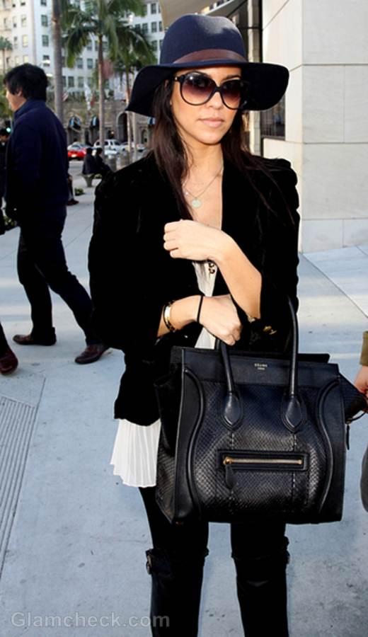 Kourtney Kardashian Shops In Style In La