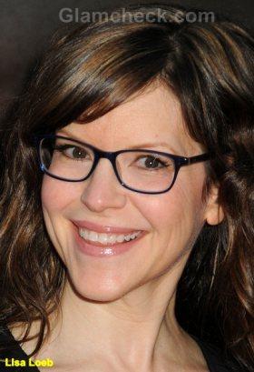 Lisa Loeb Celebrity Nerdy Glasses trend 2011