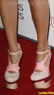 Louise Roe Celebrity footwear trend 2011