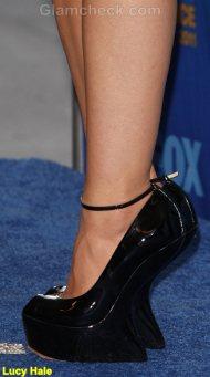 Lucy Hale Celebrity footwear trend 2011