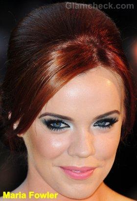 Maria Fowler beehive hair