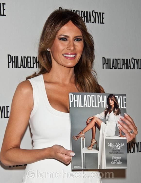 Melania Trump at Philadelphia Style Party