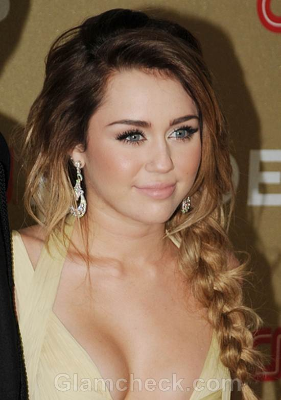 hot fuck with miley cyrus naked brunette hair