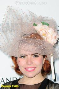 Paloma Faith Celebrity hair accessories trend 2011