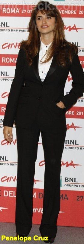 Penelope-Cruz-Celebrity Fashion Trends 2011 andrognous look