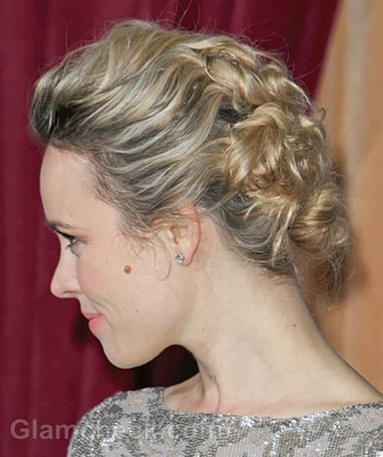 Rachel McAdams Romantic Updo – Curly Chignon