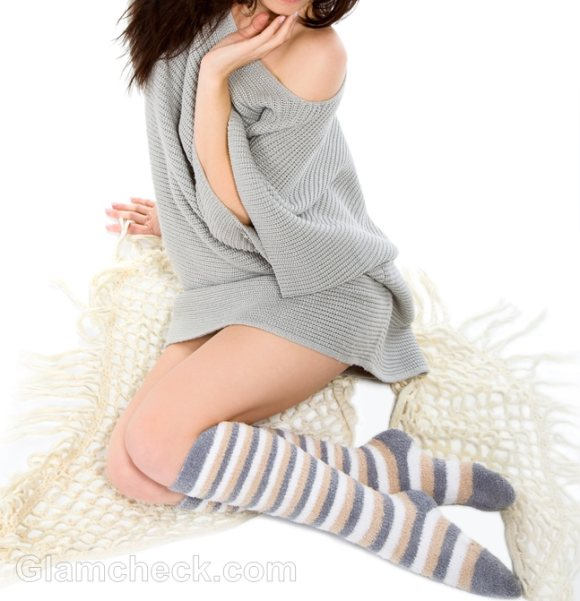 Winter Accessories striped socks