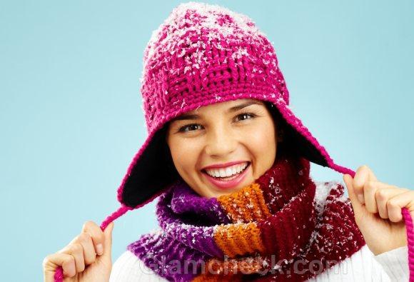 Winter Accessories wollen caps