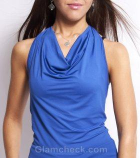 cowl neckline to Make Breasts Bigger