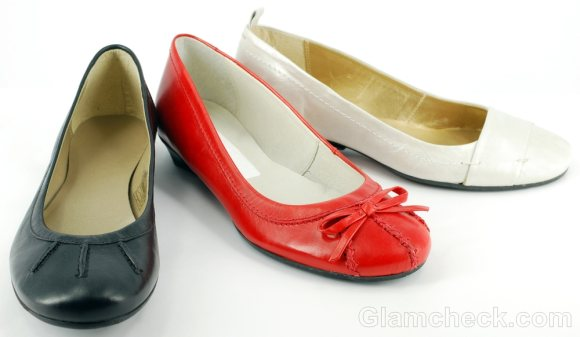 shoes to wear with boyfriend Jeans ballet flats