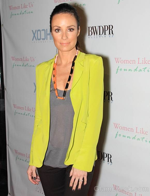Catt sadler fluorescent green blazer