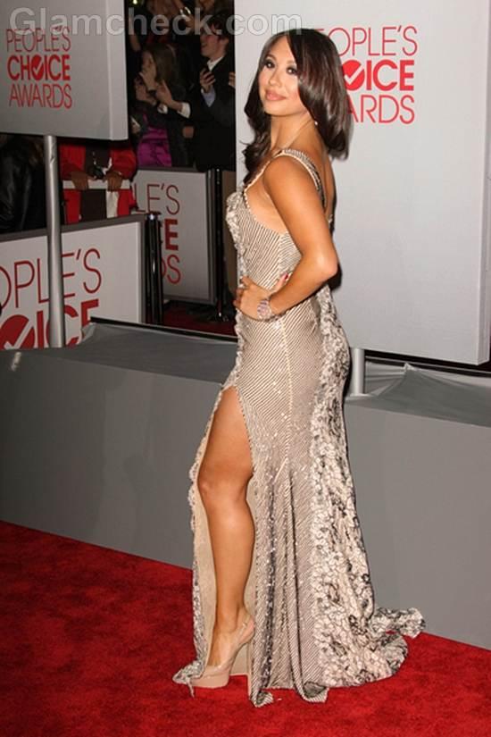 Cheryl Burke 2012 Peoples Choice Awards