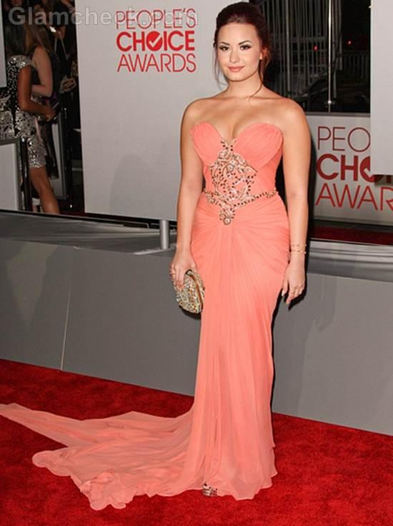 Demi Lovato 2012 Peoples Choice Awards