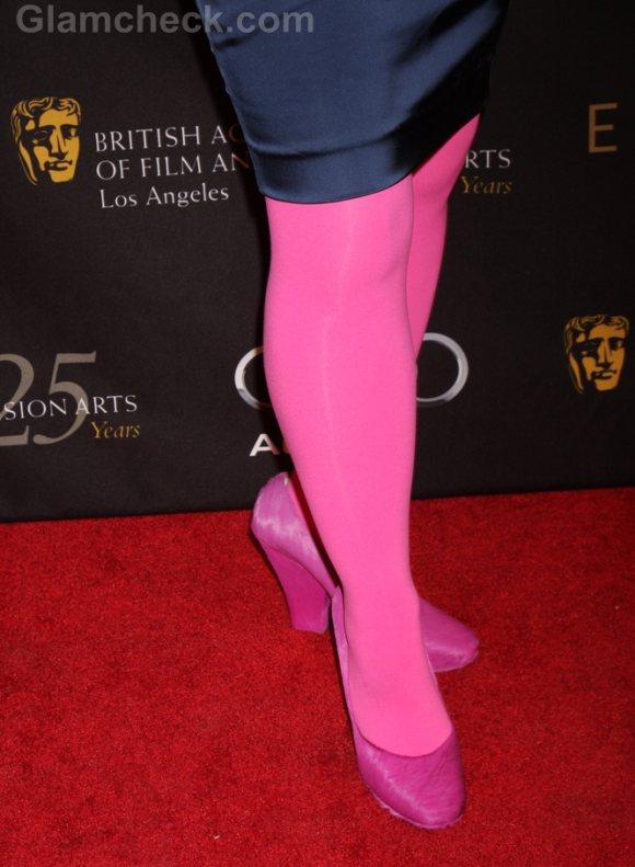 Fashion Faux Pas Kate Flannery Color Blocking