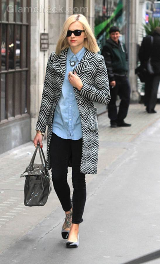 Fearne Cotton Dresses Down For Day at Work