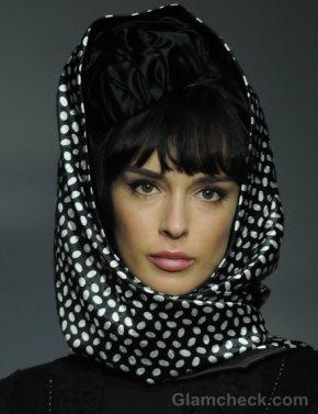 Hair Accessories Trend S-S 2012 head scarf Igor Gulyaev