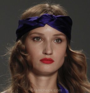 Hair Accessories Trend S-S 2012 head scarf Raul Mendoza