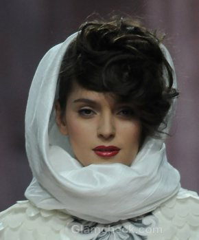Hair Accessories Trend S-S 2012 head scarf Sergey Sysoev
