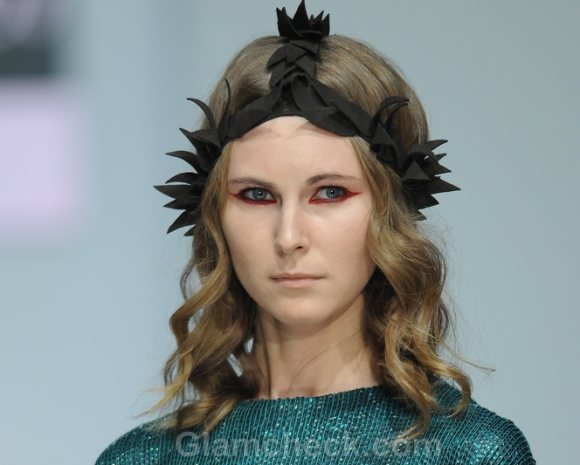 Hair Accessories Trend S-S 2012 headgears Alexander Arutiunuv