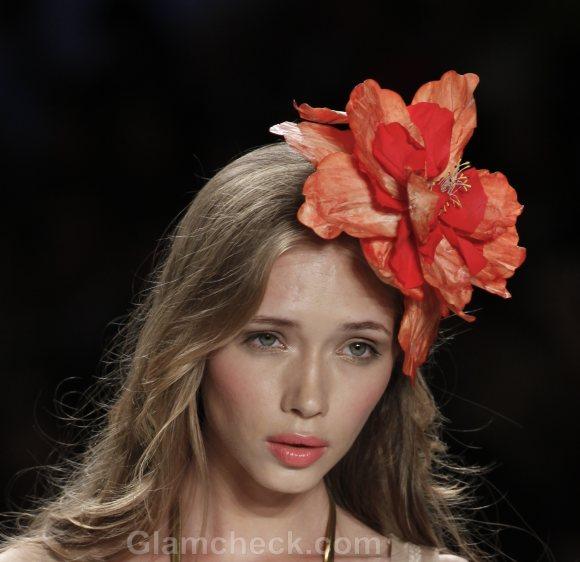 Hair Accessories Trend SS 2012 floral accessories Desiderata