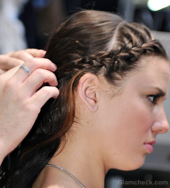 Hairstyle How To Delicate Darling Hair-do curls and braids