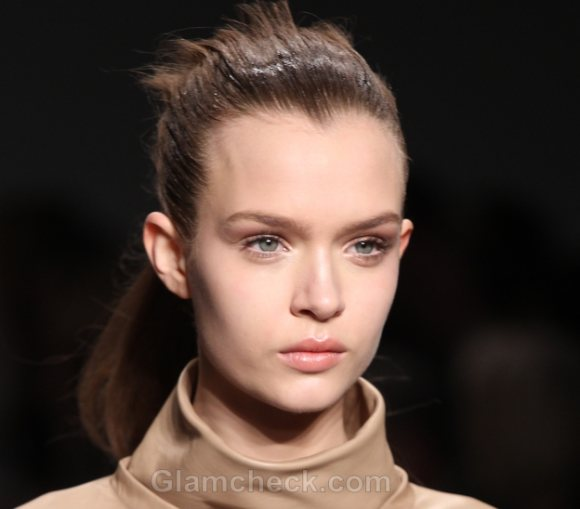 Hairstyle How To Super Sleek Ponytail Version fall winter 2011