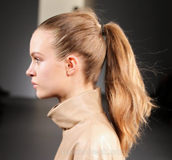 Hairstyle How To Super Sleek Ponytail Version