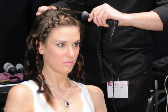 Hairstyle How To delicate curls and braids hair do