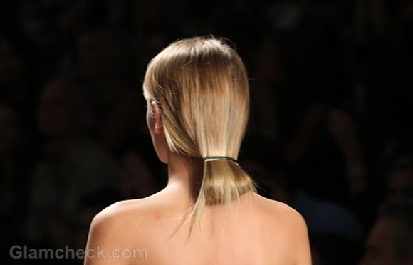 Hairstyle how to elegant looped in ponytail