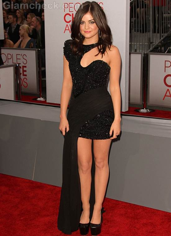 Lucy Hale 2012 Peoples Choice Awards
