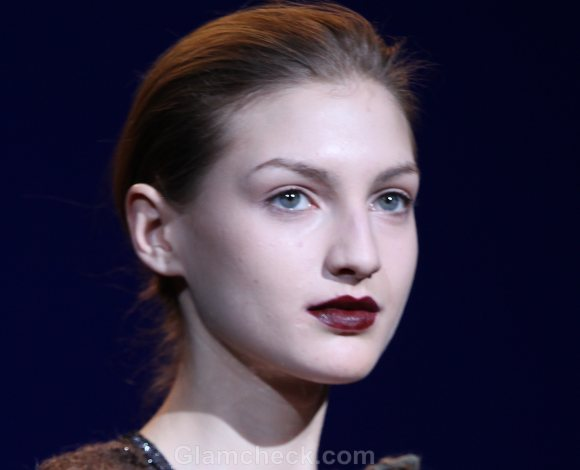 Makeup How To Dark Blood Red-Burgundy Lips