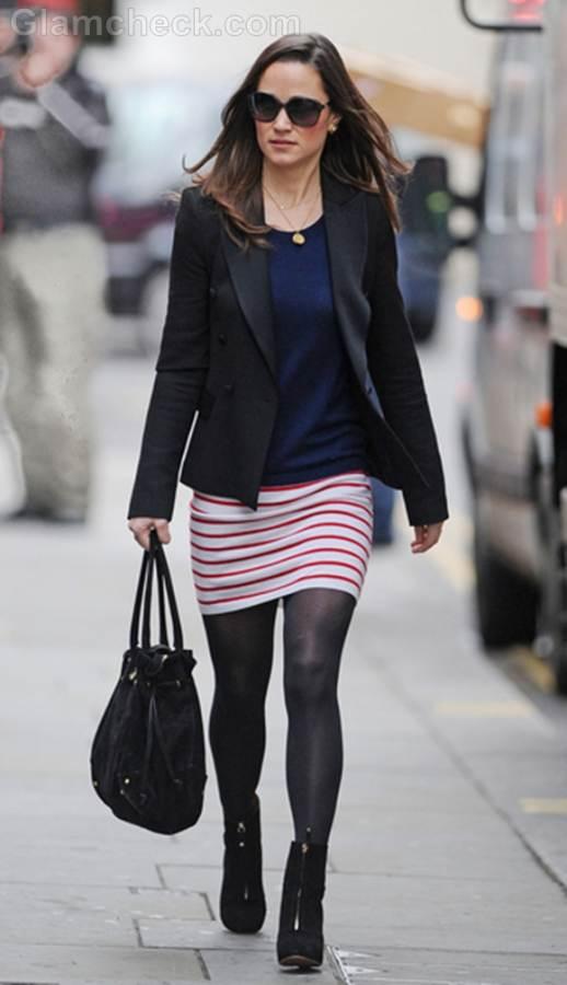 Pippa Middleton Takes a Walk in Chic Ensemble