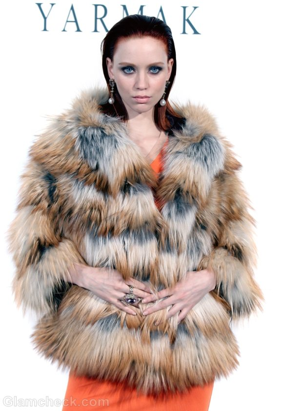 Style Pick of The Day Helen Yarmak Faux Fur Coats