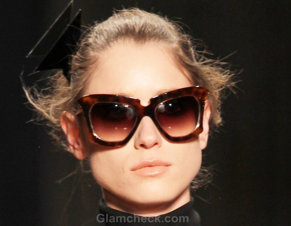 Style Pick of the Day Cat-Eye Frames Cynthia Rowley Fall 2011 collection