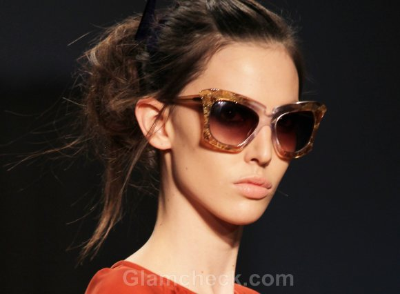 Style Pick of the Day Cat-Eye Frames Cynthia Rowley Fall 2011