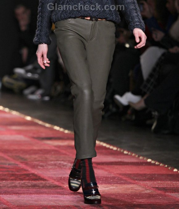 Style Pick of the Day  Skinny Leather Pants by Tommy Hilfiger