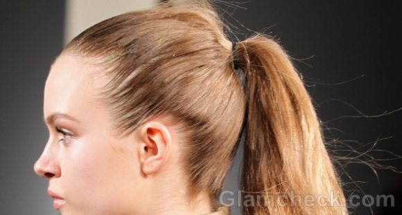 Super Sleek Ponytail hairstyle how to