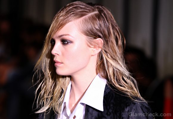 androgynous hair-do diesel black gold fall 2011