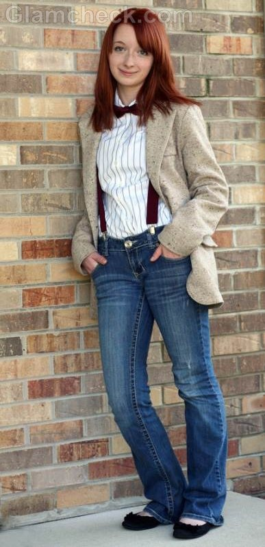 casual bow ties for women look