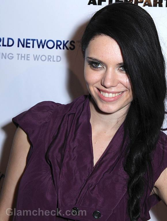 Annika Pampel Wears Lovely Side Braid to SAG 2012 Afterparty