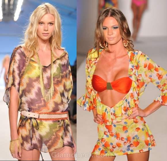 Beach cover ups tunics s-s 2012 luli fama