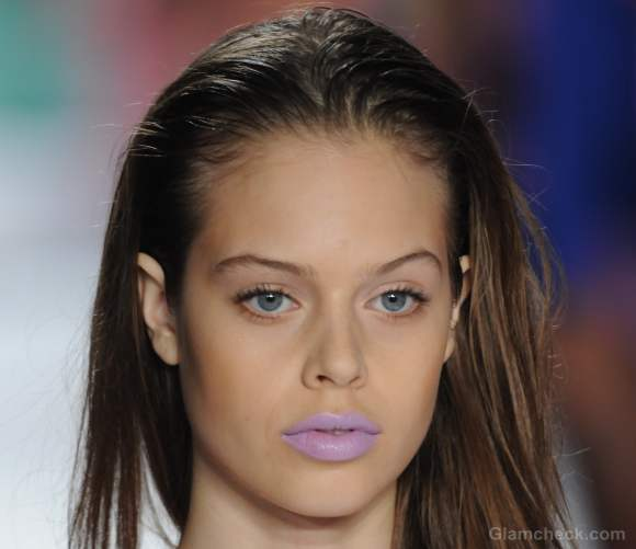 Beauty how to neon lipstick nanette lepore s-s 2012 collection