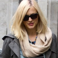 Celeb Street Style Fearne Cotton in Cool and Casual Ensemble