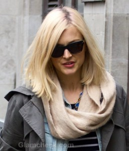 Celeb Street Style: Fearne Cotton in Cool & Casual Ensemble