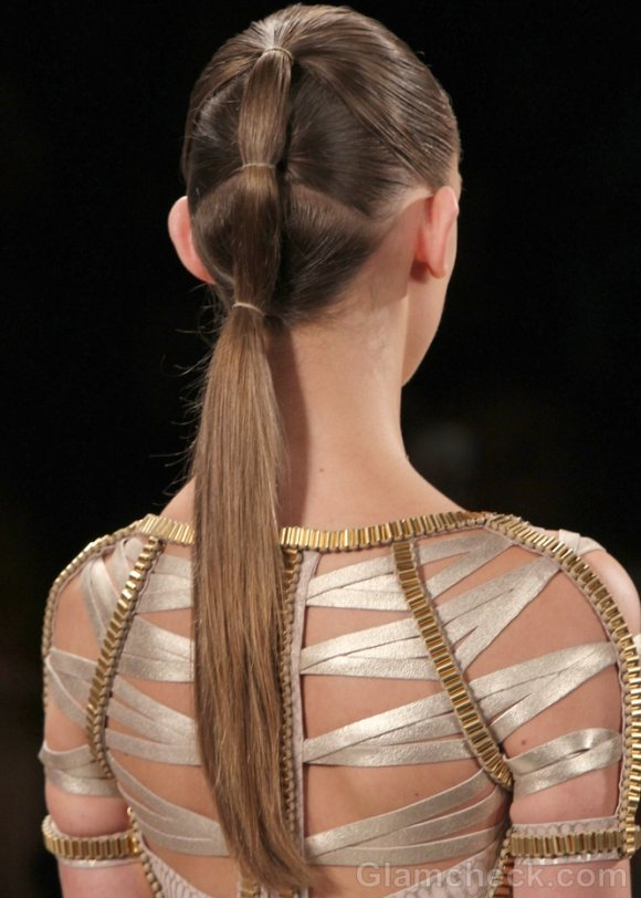 Hairstyle how to futuristic ponytail
