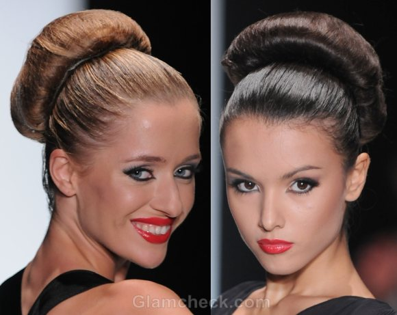 Hairstyle Trends S S 2012 Buns Amp Futuristic Updos